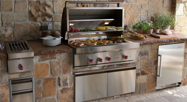 """Wolf 42"""" Outdoor Gas Grill grills"""