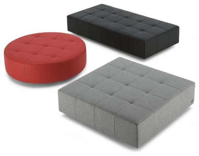 Poltrona Frau Cubo Ottomans - Modern - Footstools And Ottomans - by Switch Modern