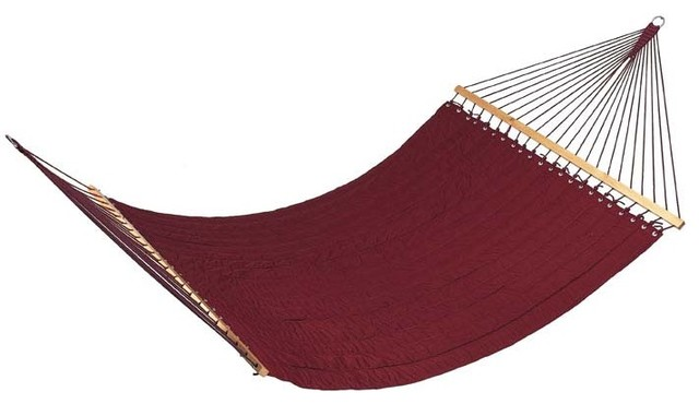 Guido quilted fabric hammock by outback chair co modern - How to make a cloth hammock ...