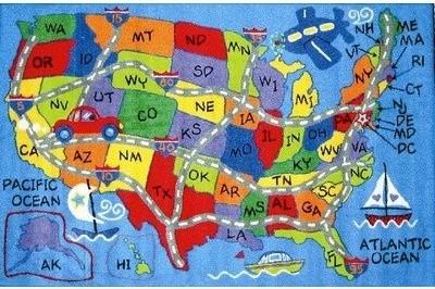 Showing Media Posts For Us Travel Funny Wwwpicofunnycom Us Map Rug