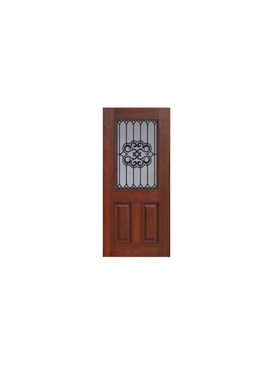 "Entry Single Door 80 Fiberglass Tivoli 2 Panel 1/2 Lite - SKU#    MCT012WTIBrand    GlassCraftDoor Type    ExteriorManufacturer Collection    1/2 Lite Entry DoorsDoor Model    TivoliDoor Material    FiberglassWoodgrain    Veneer    Price    980Door Size Options      +$percent  +$percentCore Type    Door Style    Door Lite Style    1/2 LiteDoor Panel Style    2 PanelHome Style Matching    Door Construction    Prehanging Options    Slab , PrehungPrehung Configuration    Single DoorDoor Thickness (Inches)    1.75Glass Thickness (Inches)    Glass Type    Double GlazedGlass Caming    Glass Features    Tempered glassGlass Style    Glass Texture    Glass Obscurity    Door Features    Door Approvals    Energy Star , TCEQ , Wind-load Rated , AMD , NFRC-IG , IRC , NFRC-Safety GlassDoor Finishes    Door Accessories    Weight (lbs)    248Crating Size    25"" (w)x 108"" (l)x 52"" (h)Lead Time    Slab Doors: 7 Business DaysPrehung:14 Business DaysPrefinished, PreHung:21 Business DaysWarranty    Five (5) years limited warranty for the Fiberglass FinishThree (3) years limited warranty for MasterGrain Door Panel"