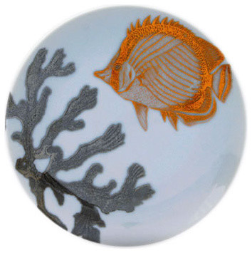 Aquarium Canape Plates contemporary serveware