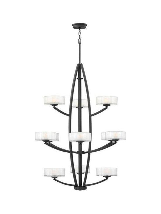 Hinkley Lighting 3876SK 12 Light Foyer Meridian Collection -