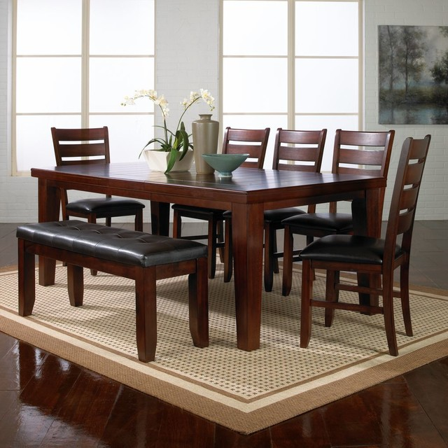 Dining Table Bench: The Brownstone