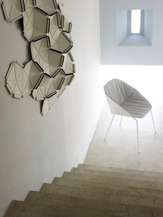 Rocher - Ligne Roset - Clouds wall piece, Rocher chair.