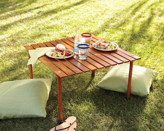 Roll-up Pack-up Picnic Table -