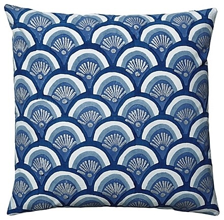 Indigo Kyoto Pillow mediterranean pillows