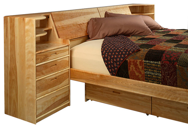 contemporary beds by Hardwood Artisans