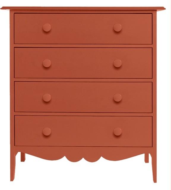 Nellie 4-Drawer Dresser traditional-dressers