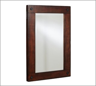 Benchwright Recessed Medicine Cabinet - Contemporary - Medicine Cabinets - by Pottery Barn