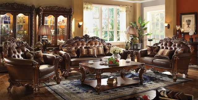 ACME Furniture Vendome Living Room Collection Traditional Furniture New