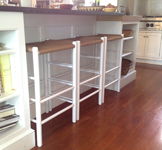 Shaker Counter Stools Modern Portland Maine By S