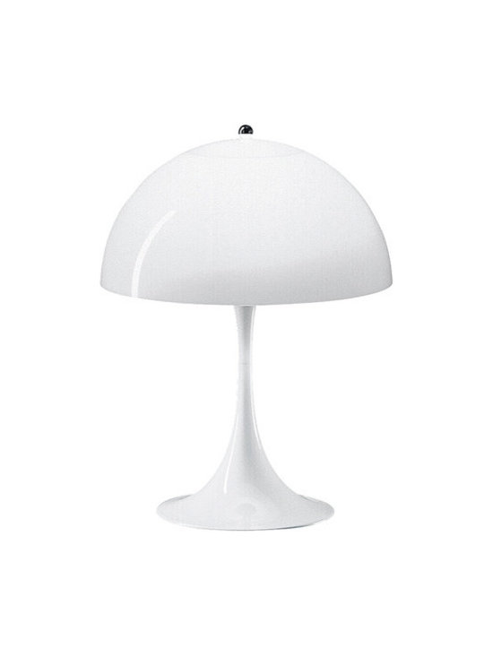 Panthella Table Lamp, by Louis Poulsen
