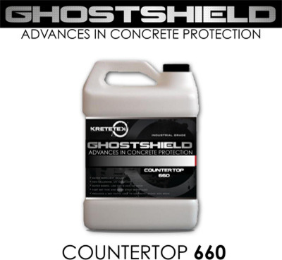 Countertop Paint Sealer : Sealer GHOSTSHIELD Concrete Countertop Sealer 660 - Industrial - Paint ...