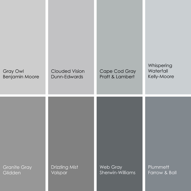 Shades Of Gray Color Awesome With Gray Paint Colors Picture