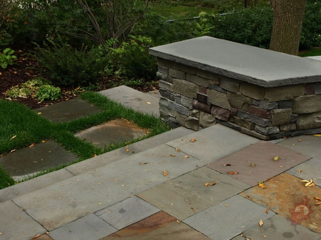 A Contemporary Outdoor Living Space contemporary-landscape