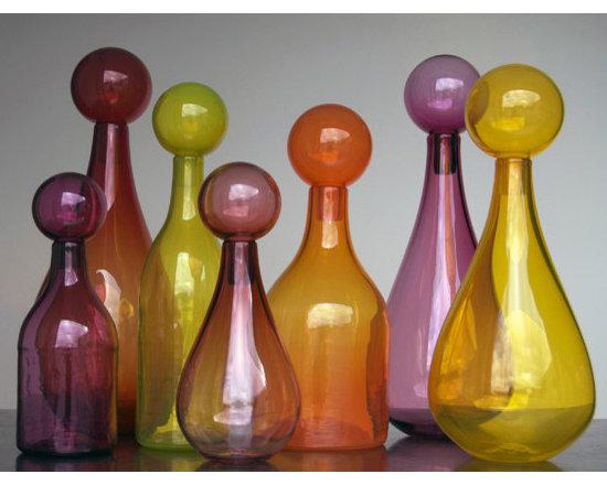 Elizabeth Lyons Glass Warmth Jar Collection -