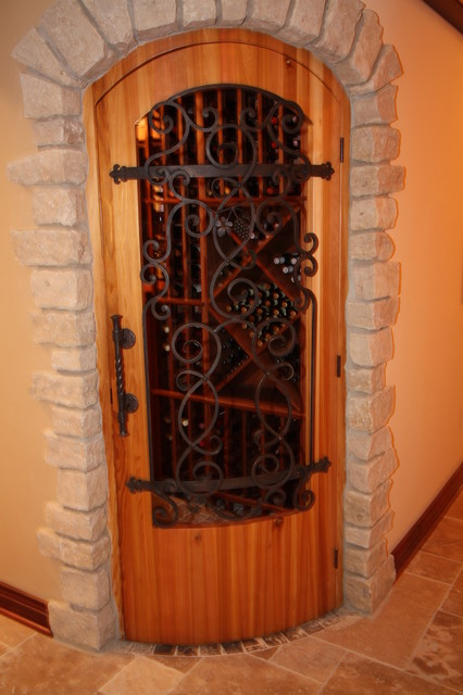 Wine Cellar Door - Mediterranean - Interior Doors - cleveland - by Architectural Justice