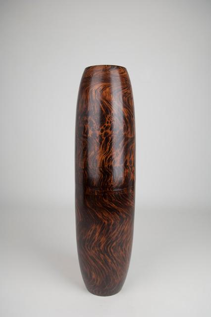 Wooden Floor Vases