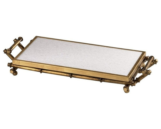 Cyan Design - Cyan Design Bamboo Serving Tray - Bamboo Serving Tray