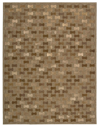 Chicago Brown Rug modern-rugs