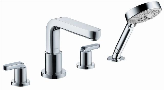 Hansgrohe 31448001 Metris Roman Tub, Lever contemporary-kitchen-faucets