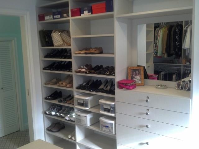 Duke Closets contemporary-closet