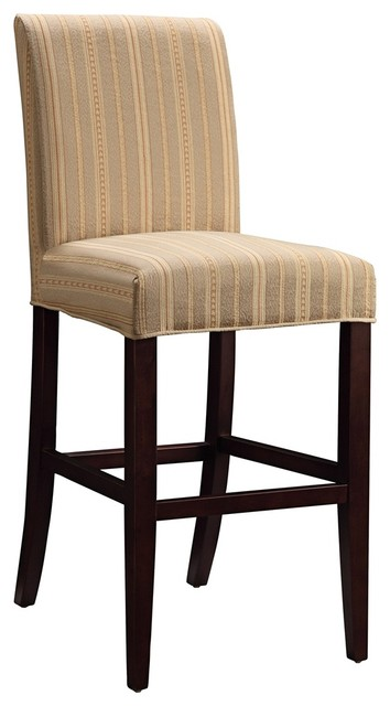 "Transitional Diane Slipcovered Monroe Parsons 30"" High Barstool traditional-bar-stools-and-counter-stools"