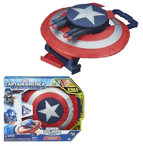 Captain America: The Winter Soldier Stealthfire Shield Toy contemporary-kids-toys-and-games
