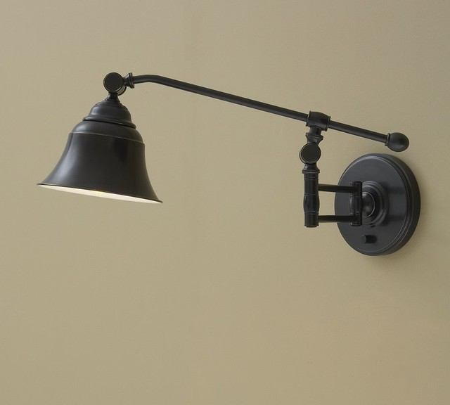 Wyatt Sconce - traditional - wall sconces - - by Pottery Barn