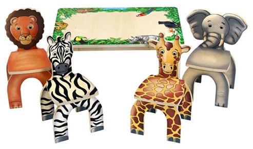 Safari Table & Animal Kid's Novelty Chairs modern-task-chairs
