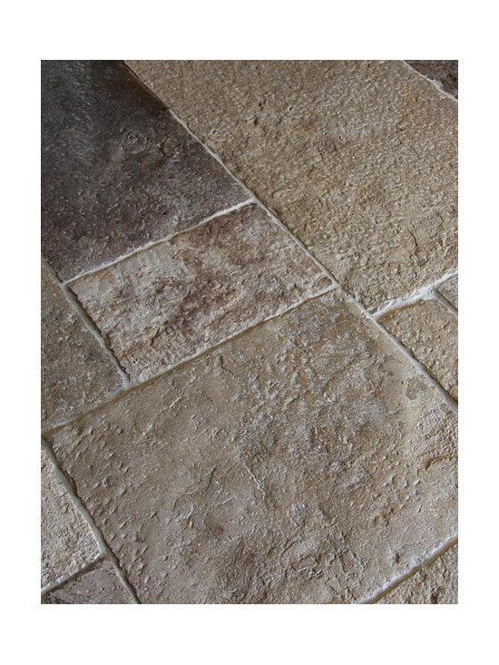 Antique Dalle de Bourgogne Stone Floor Tiles -