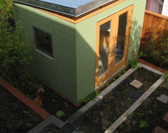 Montcalm Street contemporary-garage-and-shed