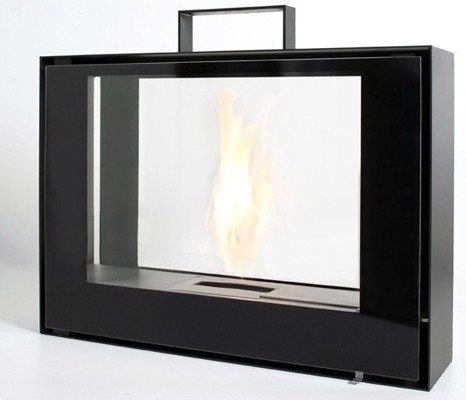 Travelmate Portable Fireplace Modern Fireplaces By Allmodern