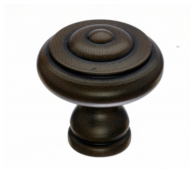 Patina Cabinet Knobs, 1 1/8 in. - Traditional - Cabinet And Drawer Knobs - by Simply Knobs And Pulls