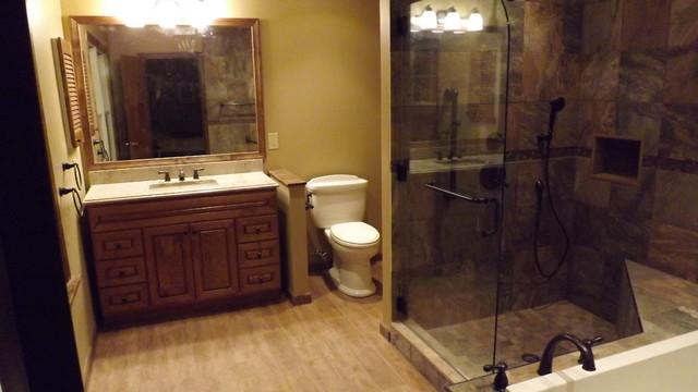Somserset, NJ Master Bath traditional-bathroom