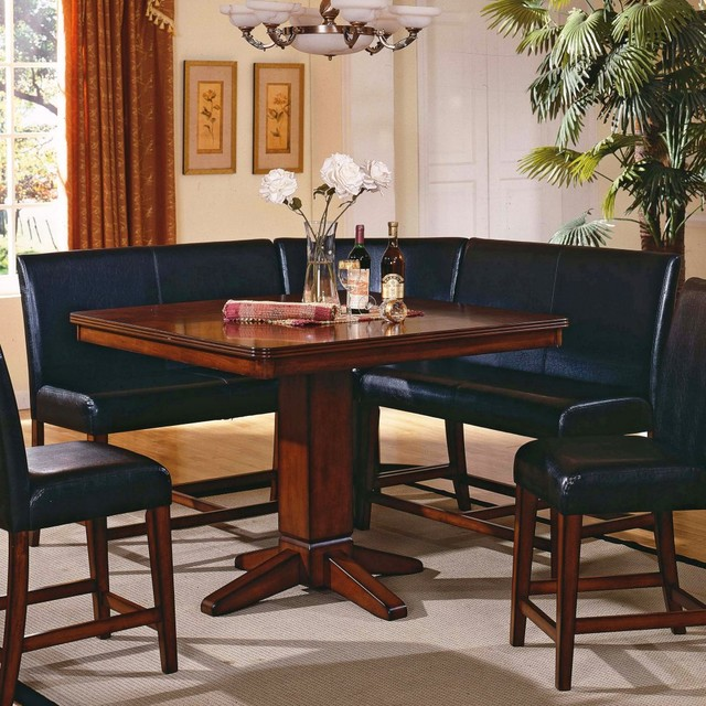 Dining Table: Corner Nook Dining Table Set