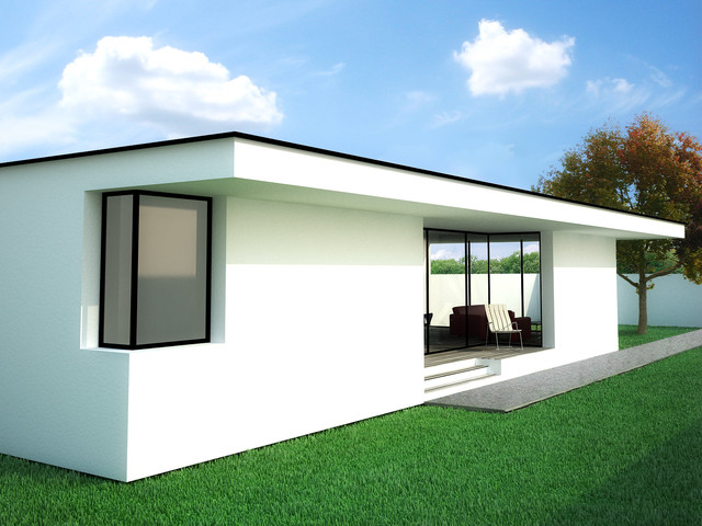 Proiecte noi de case tip in 2013 modern rendering for Rendering case moderne