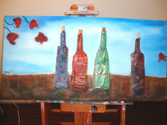 Dark Bottles eclectic-artwork