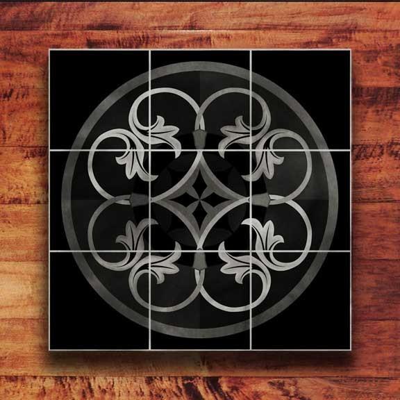 Granite Medallion traditional-flooring