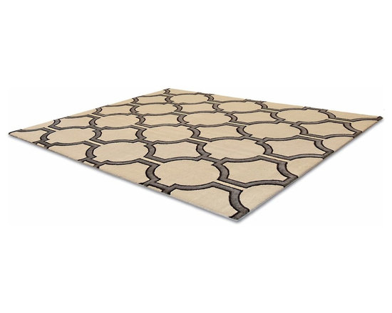 Allen Rug - This low pile nylon rug is made locally in California.