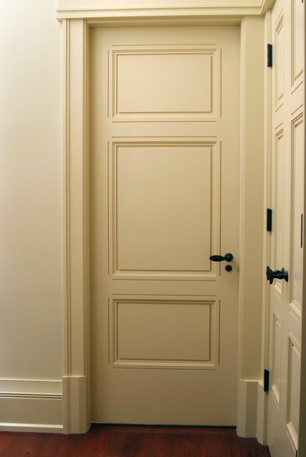 Custom 3 Panel Interior Door Craftsman Interior Doors Other Metro By Baird Brothers Fine