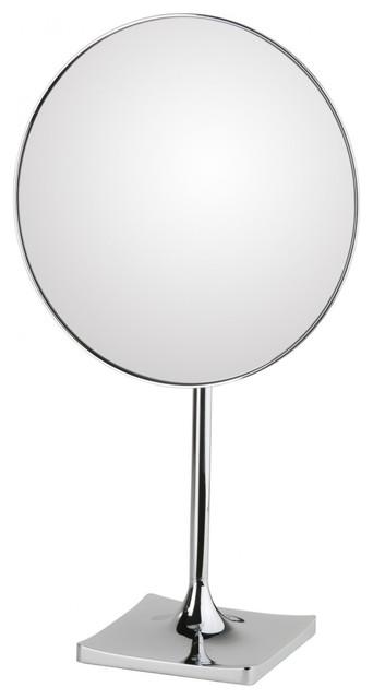 WS Bath Collections Discolo Magnifying Mirror 3X contemporary-bathroom-mirrors