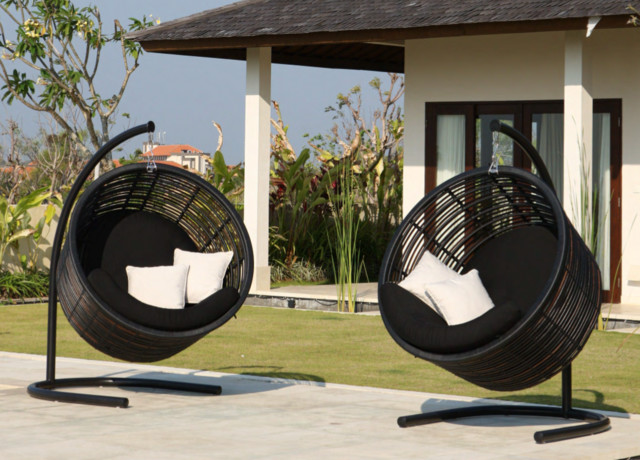 Mercy Hanging Chair From Skyline Design Modern Outdoor Lounge Chairs Ne