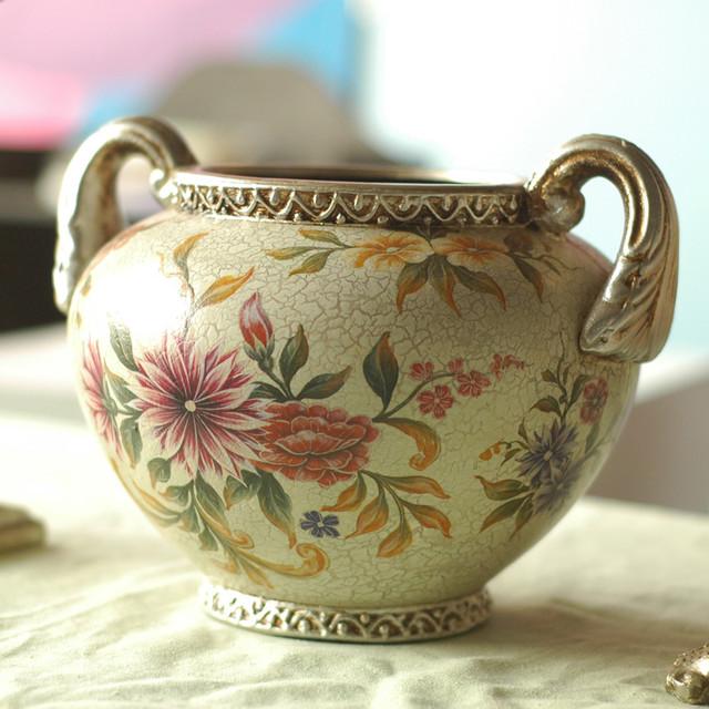 D4H porcelain urn traditional-vases