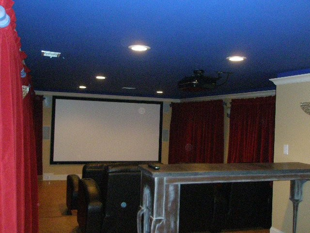 Remodel traditional-home-theater