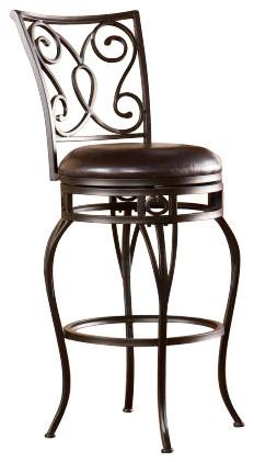 Hanover Swivel Bar Stool modern-bar-stools-and-counter-stools