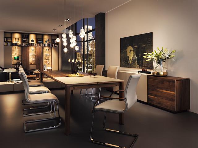 Magnum Modern Walnut Dining Table modern-dining-tables
