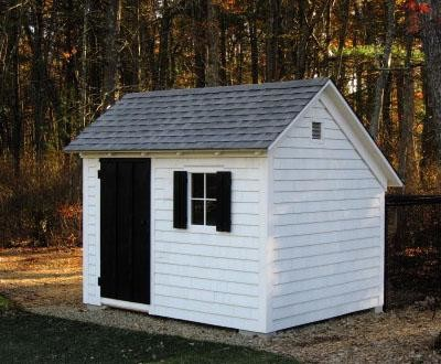 8 39 X 10 39 Stony Brook Saltbox Shed Modern Sheds Other