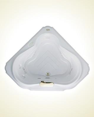 Jacuzzi-BEL6060 CCR 4CH W Bellavista Acrylic 60-Inch x 60-Inch x 25-Inch Luxury traditional-bathtubs